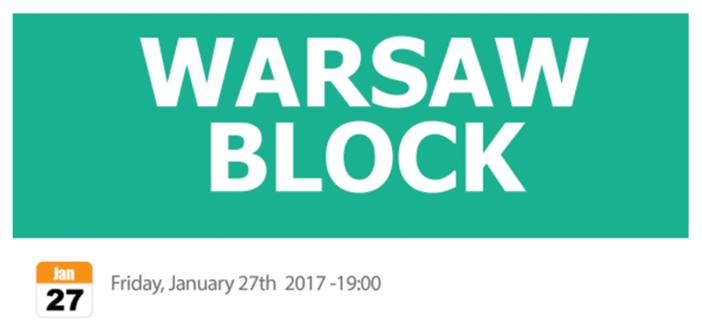 Warsaw Block – Law and Blockchain