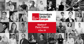 The Innovators Under 35 Europe 2018