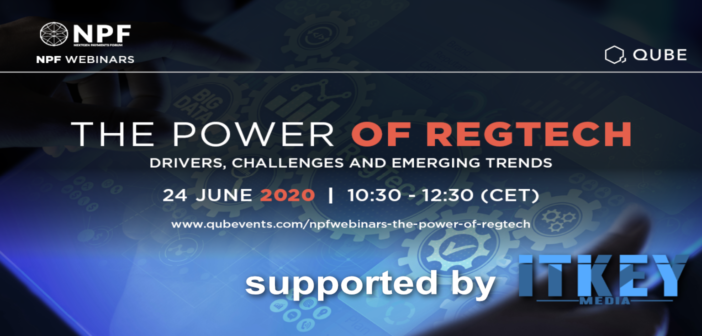 RegTech: A Safe Boat in the Tsunami of Regulations? Invitation to Webinar