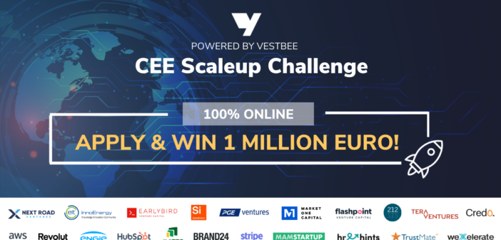 CEE Scaleup Challenge by Vestbee to Award Best Startups With a One Million Euro Prize