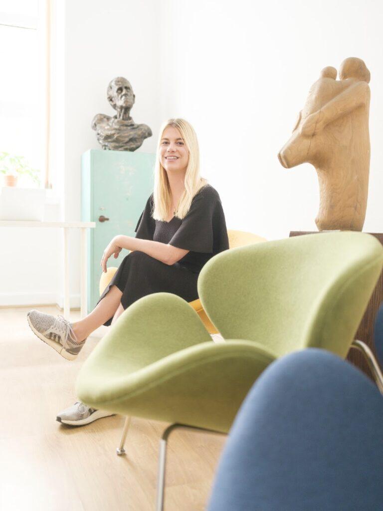 BOOKR Kids' CEO and Co-Founder, Dorka Horváth