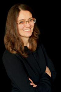 Dr. Ewa Wojtyna, a psychooncologist and specialist in digital products at Uniwersytet Śląski