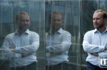 Samurai Labs' CEO Posing